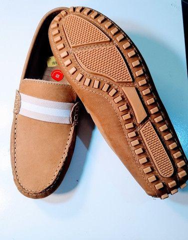 Sapato Masculino de Couro - Foto 3
