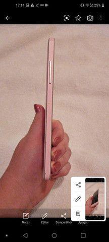 Celular Samsung Rosa carregador original e na caixa