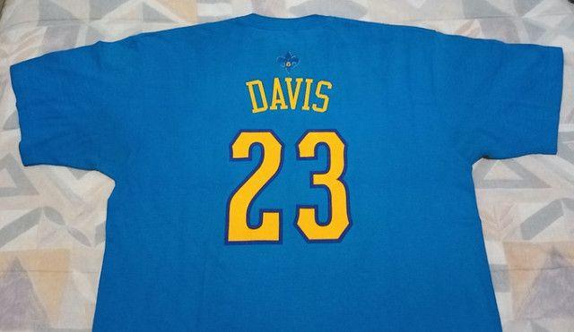 Camisa Adidas Nba Hornets Anthony Davis #23! Muito Rara! - Foto 5