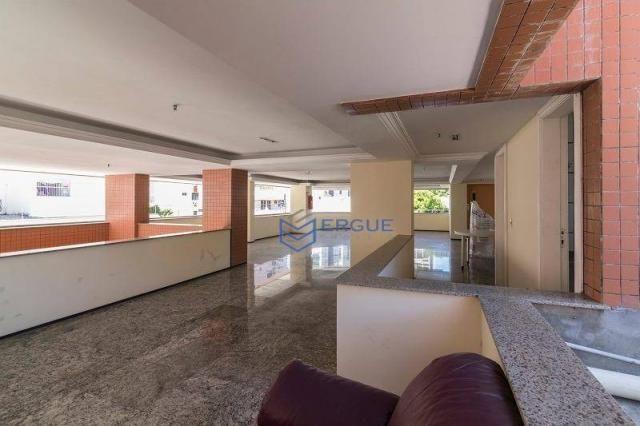 Apartamento com 3 dormitórios à venda, 223 m² por R$ 890.000 - Aldeota - Fortaleza/CE - Foto 17