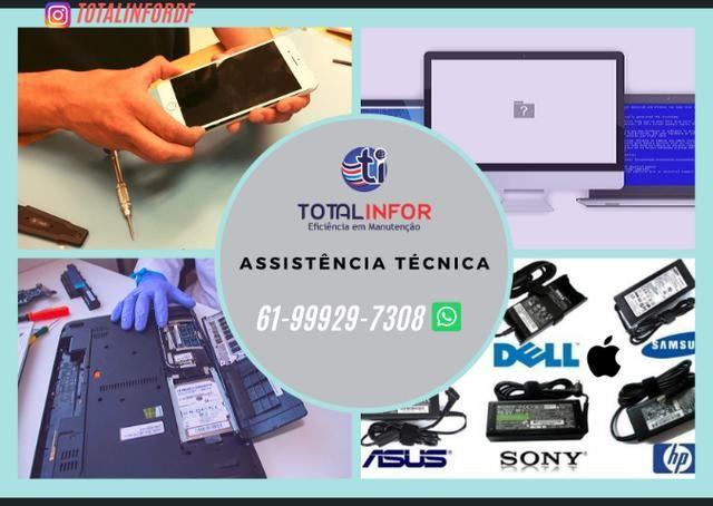 Problemas seu Notebook? Acer Asus Dell Lenovo Hp Apple - Serv 6 Meses Garantia - Foto 2