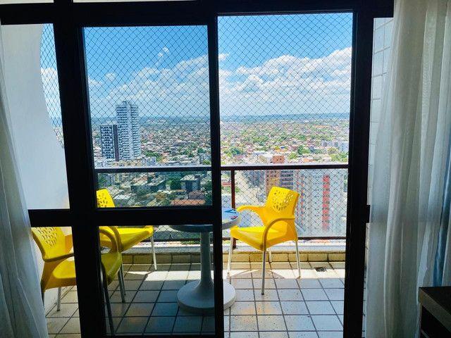 Alugo flat excelente 40 mts mobiliado - Foto 5