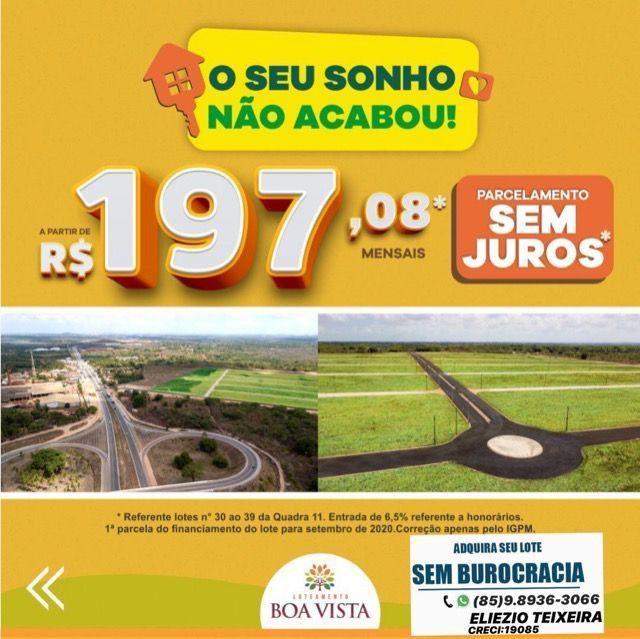 Loteamento à 10 minutos de Fortaleza com infraestrutura completo! - Foto 4