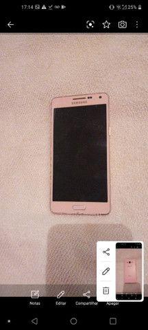 Celular Samsung Rosa carregador original e na caixa - Foto 3