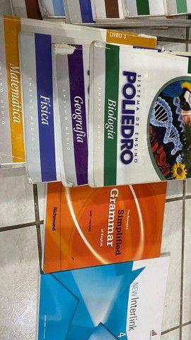 Doação de livros escolares, poliedro, sas - Foto 5