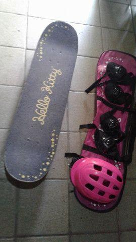 skate completo de menina