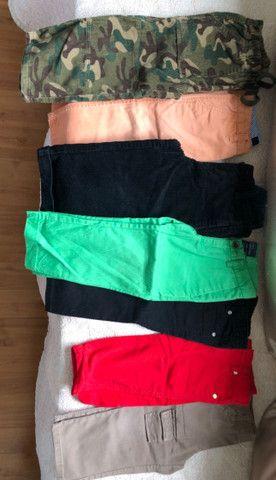 Lote de calças grifadas legítimas tamanho 2 t - Foto 5