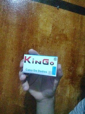cabo de dados KinGo 2.1A output Iphone 4/4S i-Pad 2/3