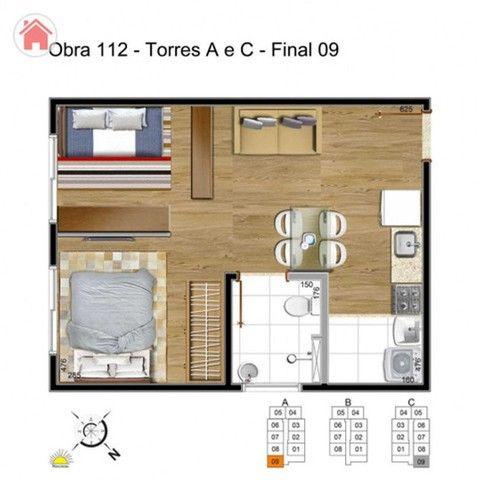Apartamento em Samambaia de 1 quarto na melhor regiao - Foto 12