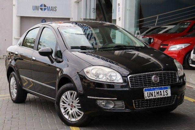Fiat Linea 1.8 Essence flex manual 2012 preto, lindo! periciado.