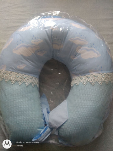 Almofada de amamentação e ninho
