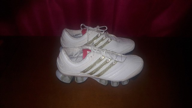 Tênis Adidas Unissex Originais Couro Novos 36 - Foto 2