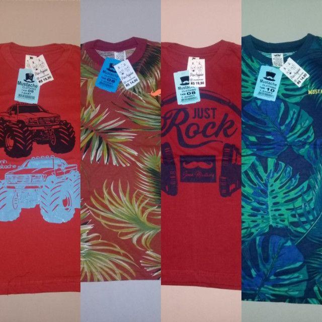 Kit combo camisa infantil - Foto 2