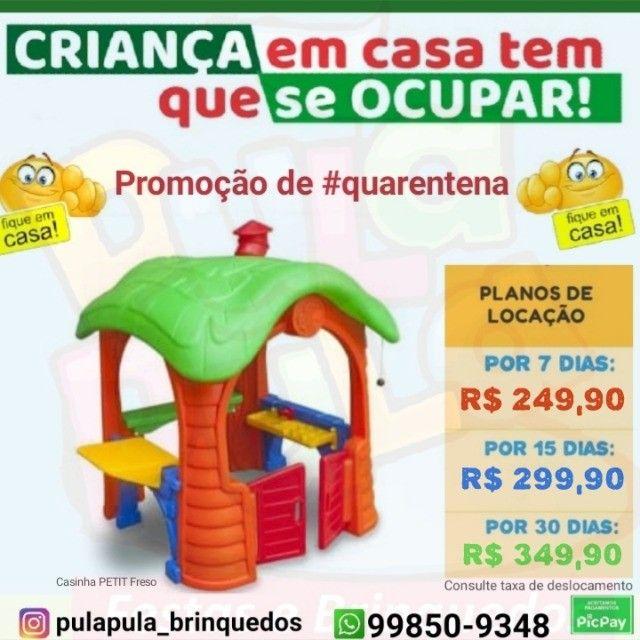 Aluguel Casinhas playground por 30 dias de diversão - Foto 3
