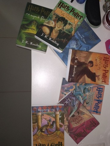 Coleção literária Harry Potter (inteira) - Foto 2