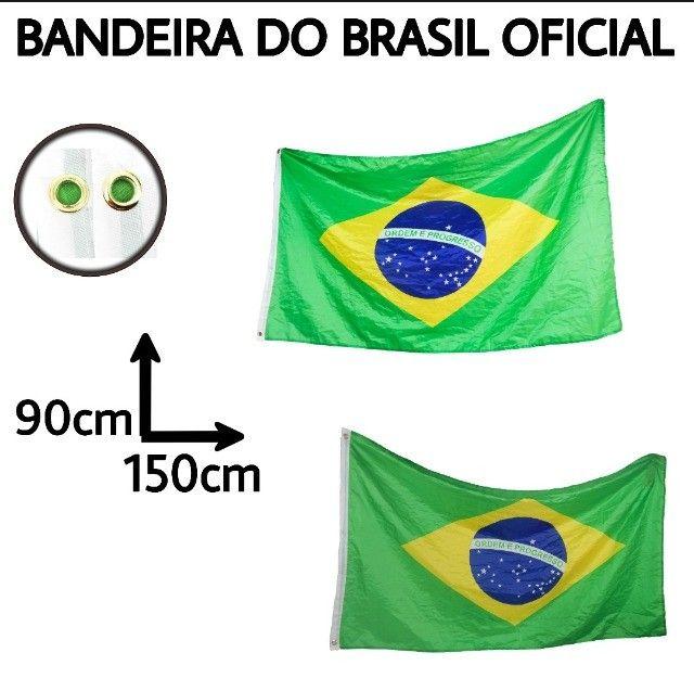 Bandeiras do Brasil em promoção 10 por 123$
