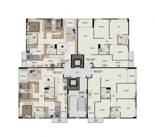 Apartamento com 3 quartos no Barro - Recife/PE - Foto 20
