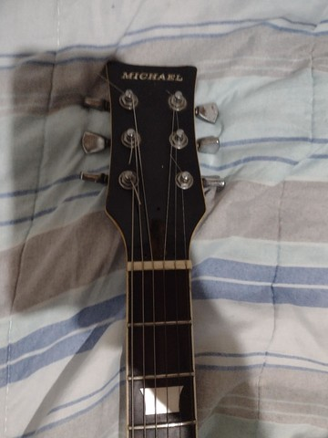 Guitarra Michael + amplificador e cabo - Foto 2