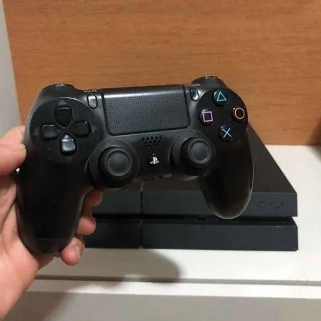 PS4 500Gb Completo + 2 Controles Originais Perfeito Estado - Foto 2