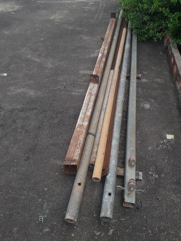 Tubo ferro galvanizado