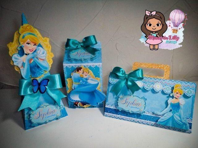 Caixinhas personalizadas para cha de bebe e festas - Foto 5