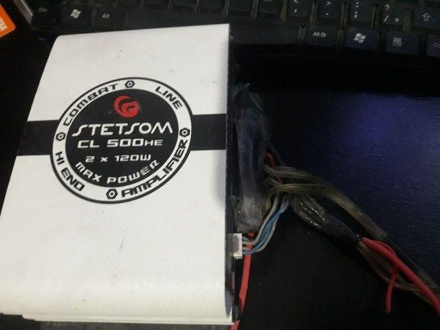 Módulo Potência/amplificador Stetsom Cl500  Max Power - Foto 2