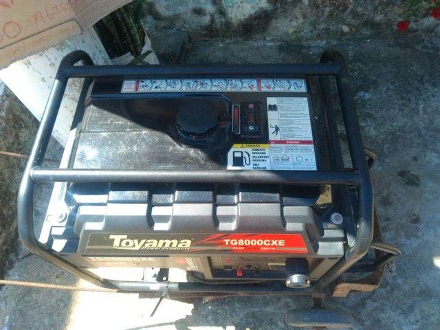 Vendo um gerador semi-novo tel * - Foto 5