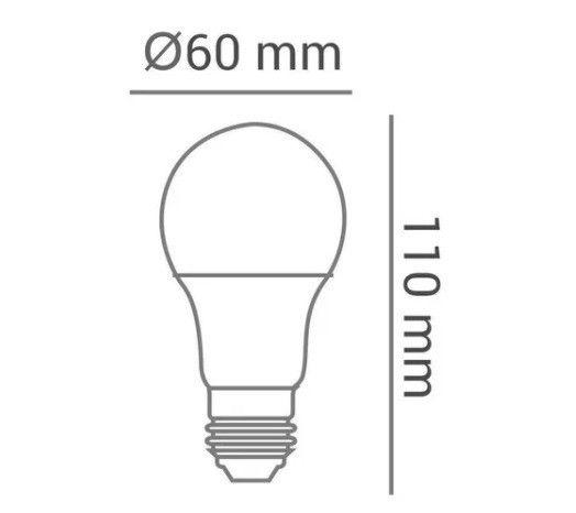 Lampadas Led 9 W Avant Branco Frio Bivolt 6500k - Foto 3