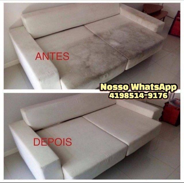 Limpeza de Colchão Sofá Cadeiras Carpete Tapete Carros - Foto 2