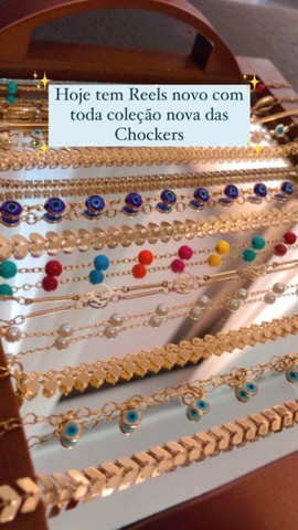 Chocker gargantilhas  - Foto 2