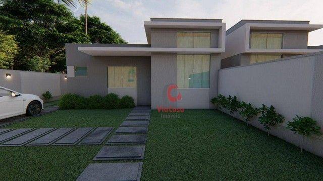 Casa Linear com 3 Quartos Sendo 1 Suíte à venda, 80 m² por R$ 280.000 - Enseada das Gaivot - Foto 5