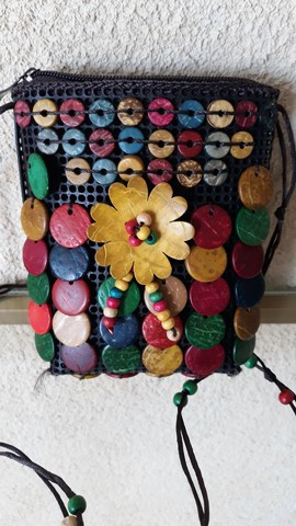 Bolsinha artesanal  - Foto 4
