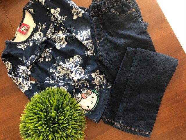 Look blusinha e calça  - Foto 3