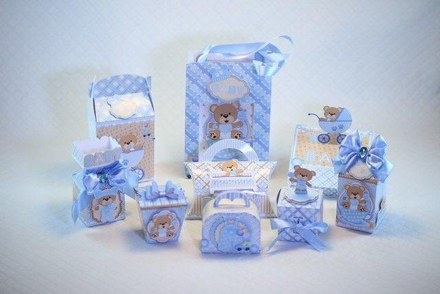Caixinhas personalizadas para cha de bebe e festas - Foto 3
