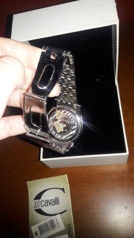 Relógio da Just Cavalli Zircônias Prata Original - Foto 6