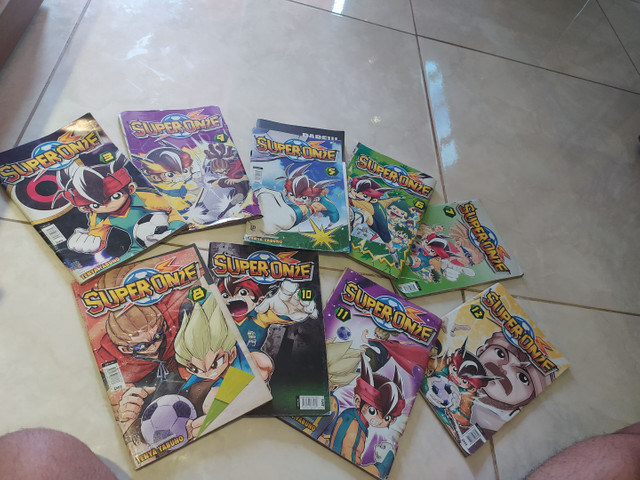 Coleção Inazuma Eleven (Super Onze) - 9 volumes - Foto 3