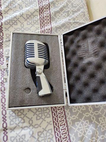 Microfone Shure Super 55 ORIGINAL C/Case. Estudo trocas! - Foto 5