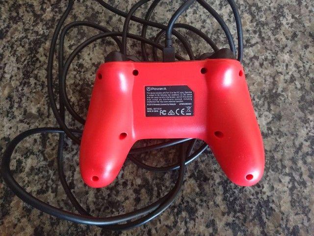 Pro Controller Nintendo Switch Original Edição Mario  - Foto 2