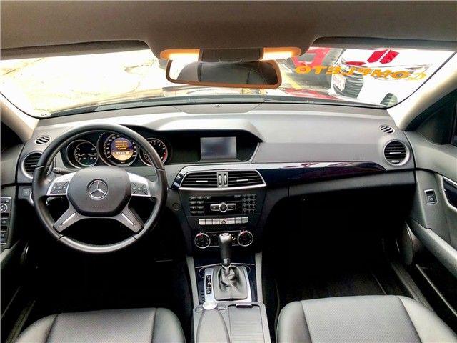Mercedes-benz C 180 2012 1.6 cgi classic 16v turbo gasolina 4p automático - Foto 3