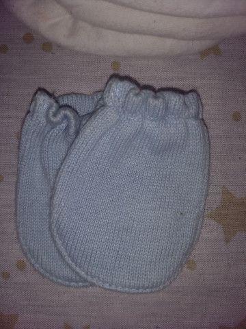 Meias, sapatinhos, luvas e chapéus R$10 - Foto 2