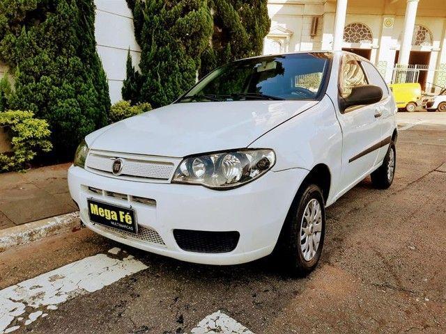 Fiat Palio Fire 1.0 Flex Básico Branco Carro Novo 2012 Mega Fé