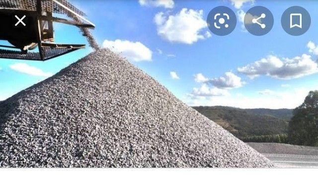 Brita areia aterro e pedra - Foto 3