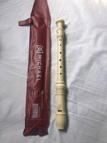 Flauta doce da marca Michael