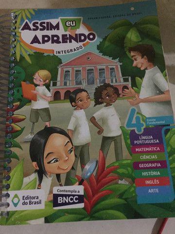 Livros do 4 ano da editora Brasil