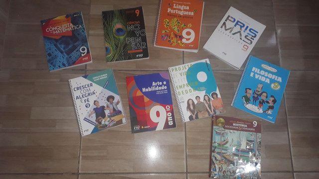 Coleção de livro do 9° ano FTD