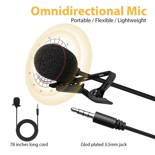 Microfone De Lapela Celular Smartphone Profissional Stereo - Foto 3