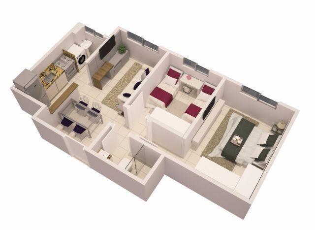 Apartamento com dois quartos Financiavel! - Foto 14