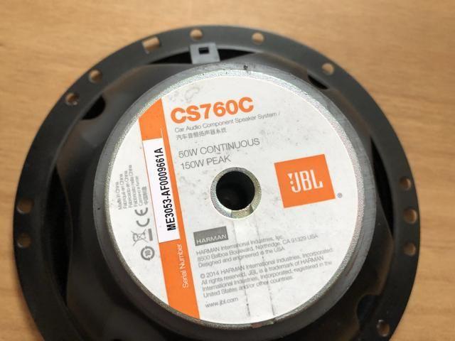 Kit duas vias jbl de alta definição CS760C