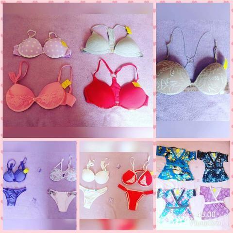 Vendo roupas lingeries e bolsas feminino Taubaté