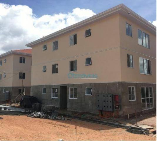 Apartamento com 2 dormitórios à venda, 44 m² por r$ 128.000 - thomaz coelho - araucária/pr